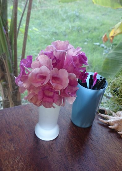 花瓶に入れてみました
