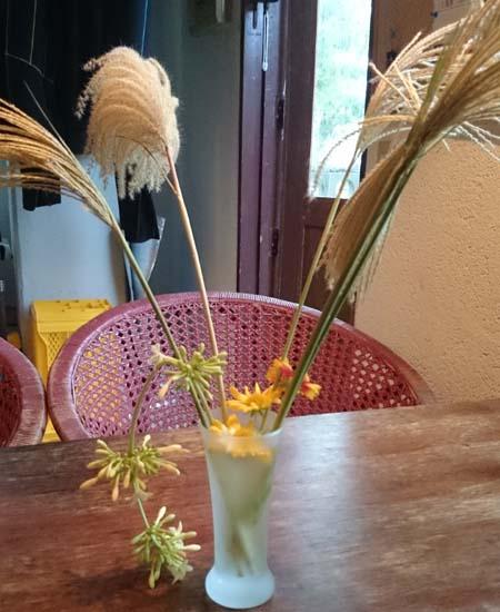 やはり生け花はセンスです。