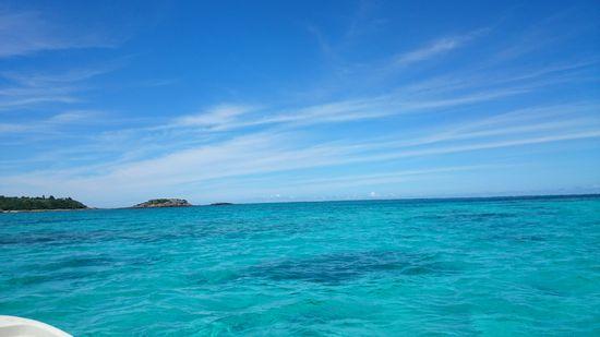 空も海もとてもキレイです
