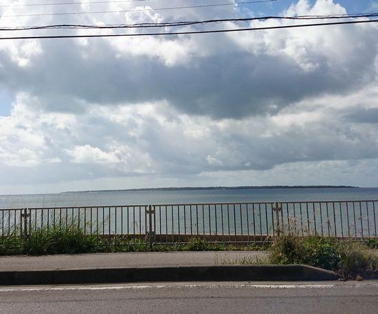 竹富島がみえます
