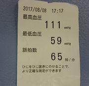 血圧、図ってみました。