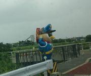 石垣島道は安全運転