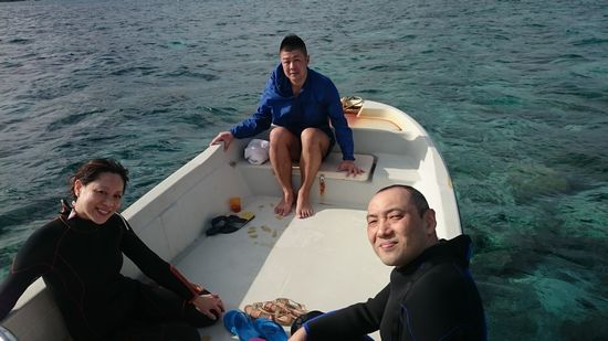 リピーターU平さんとO本さんご夫婦です
