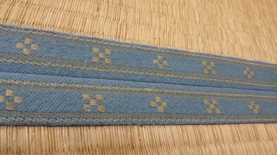 みんさー織のデザインの入った畳