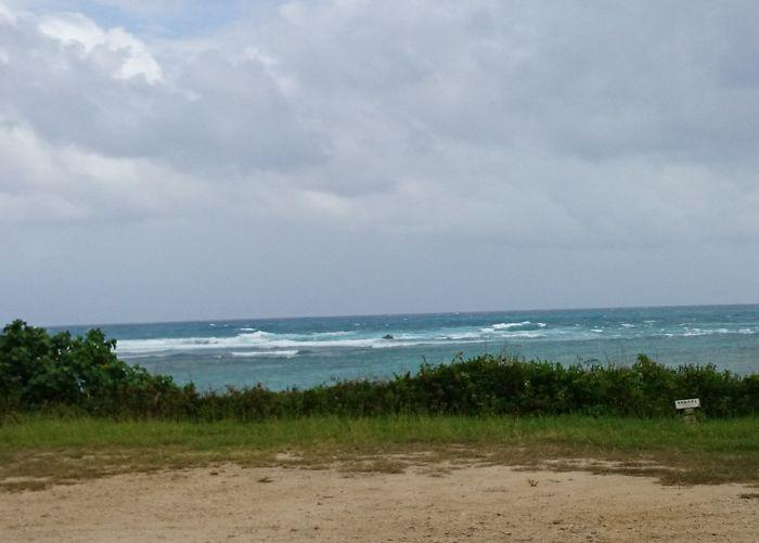 台風の高波が着々と。。