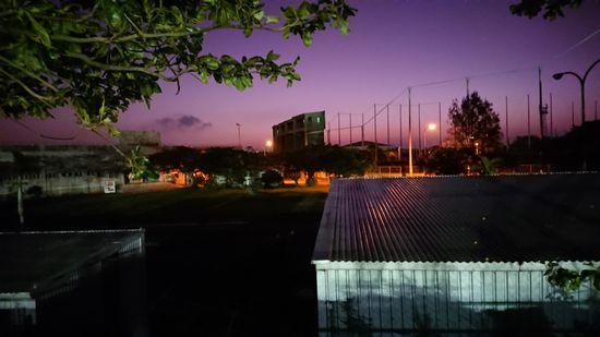 夕暮れ時の石垣島