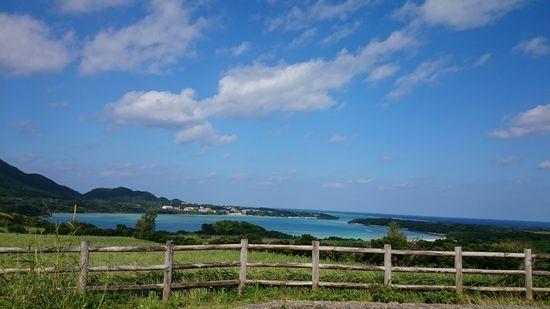 新年早々、絶好調の景色を誇る観光スポット川平湾です。