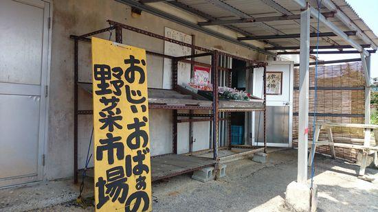 伊野田漁港の入り口で