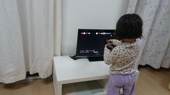 テレビの電波が弱く。。。