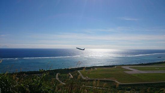 飛行機も近いです。