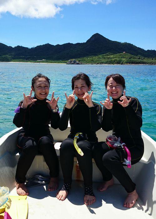 S木さん、T澤さん、K山さん。三名様で楽しんできました