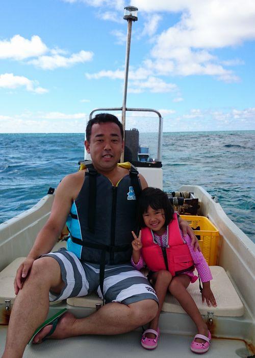 Y田さん親子です。ユリちゃんは5歳です