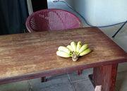 事務所に帰るとバナナ