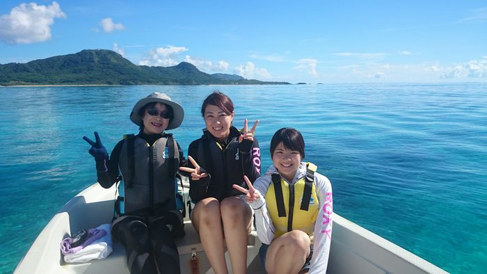 H野さん、O島さん、K堀さんです