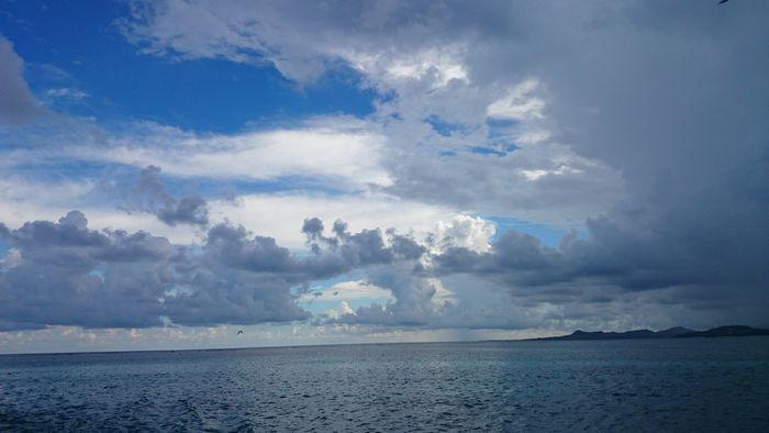 港も戻るころには雨が。。。