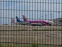 空港には飛行機