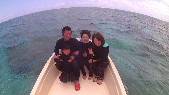 Y山さんご家族です。