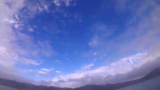 青空が広がっています