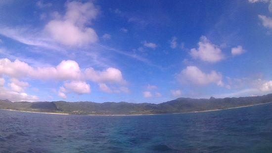 今日も天気は晴れの石垣島です。