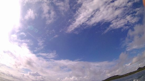今日も青空が広がる石垣島です。