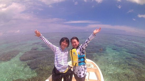 Y口さんとO島さんです。