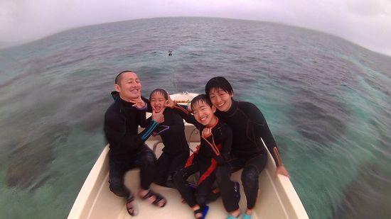 N村さんご家族です。