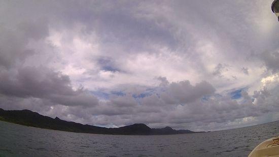 午後からは雲がもくもくです!