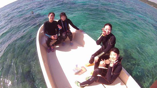 I垣さんご夫婦と、T林さんとK原さんです。