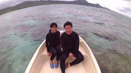 初めての石垣島のT折さんご夫婦です。