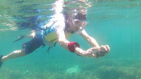 ずっと水中撮影のK玉さん