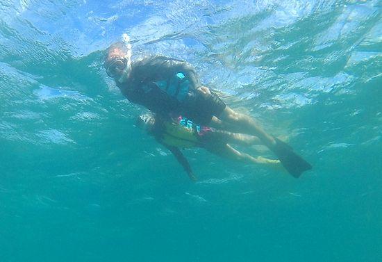 良い感じで水中を楽しんでいらっしゃいます