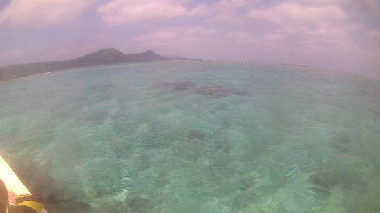 シュノーケリング日和の石垣島です