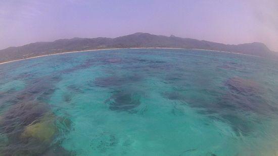 晴れの一日の石垣島です。