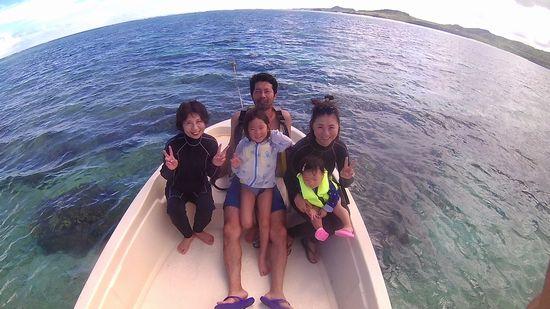 Y川さんご家族です。