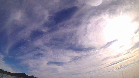 今日も晴れ!穏やかな海です
