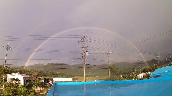 見事は円を描く虹です