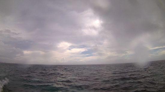 どんより曇りです