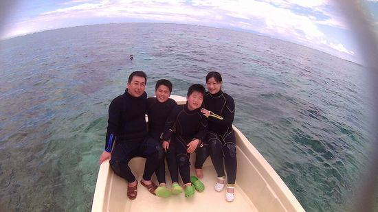 G藤さんご家族です。
