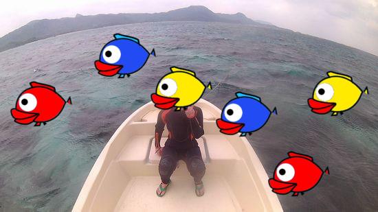 ぶらり一人で石垣島へ!U田さんです