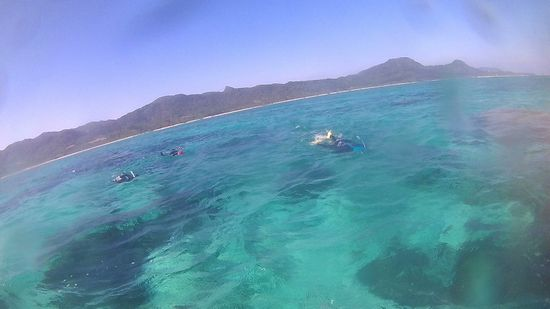 石垣島をシュノーケル!