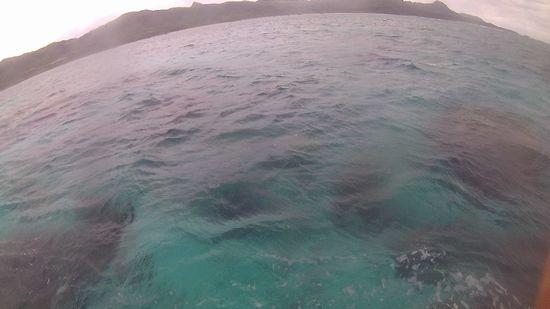曇の石垣島です
