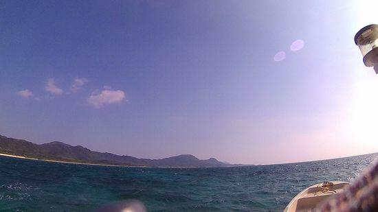 晴れてはいますが、波は高い石垣島です。