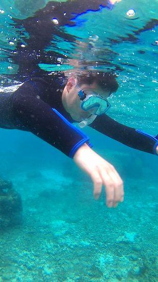 リラックスモードで泳ぎ初めていきます