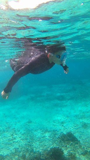 余裕の泳ぎでしたね!
