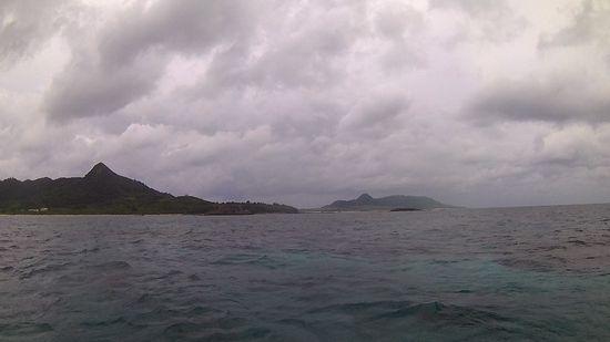 どんより雲と強い南風!