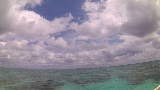 午前は曇り、午後からは晴れの石垣島です。
