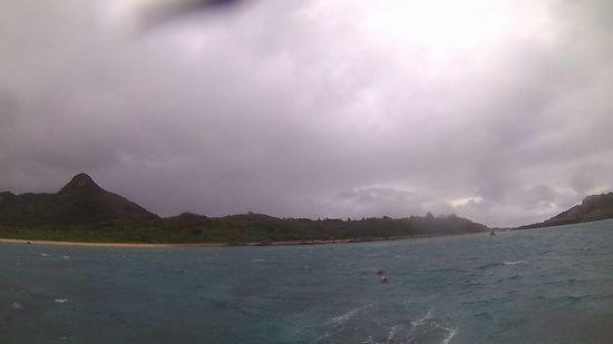 小雨パラパラの天気です。