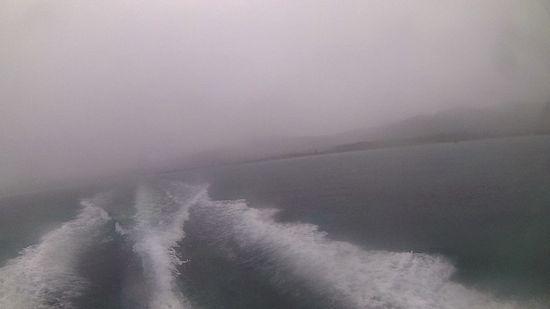 雨の中シュノーケルツアー