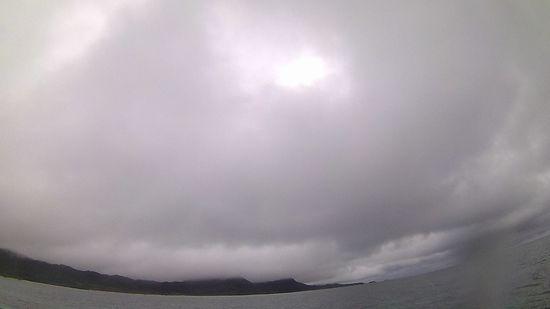午前はあいにくの曇り模様です