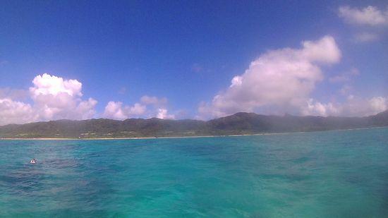 今日も日焼け日和の石垣島です